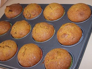 Low Fat Pumpkin Muffin Recipe