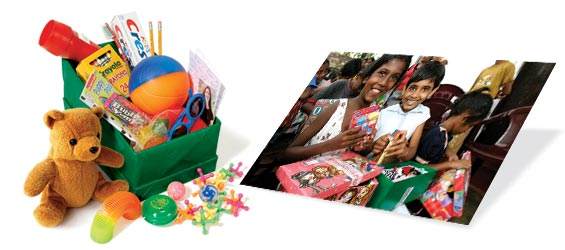 Operation Christmas Child Materials