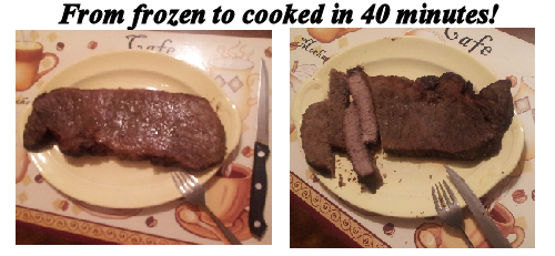 Easily Cook Frozen Steak