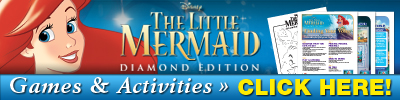 The Little Mermaid Diamond Edition DVD