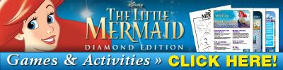 The Little Mermaid Diamond Edition DVD