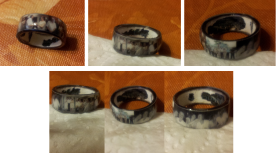 Photo Personalized Memory Ring