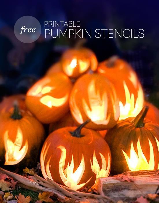 FREE BHG Pumpkin Stencils