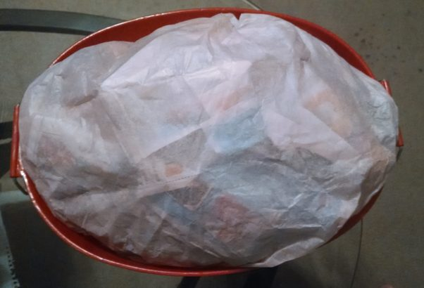 DIY Inexpensive Baby Gift Basket