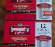 Community Coffee Golden Caramel and Pumpkin Praline Coffees Review