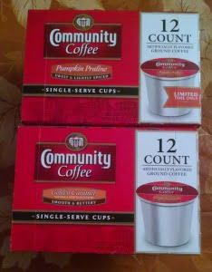 Seasonal Flavored Coffee