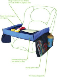 Snack & Play Travel Tray