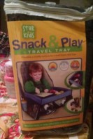 Star Kids Snack & Play Travel Tray Review #HolidayGiftGuide2015