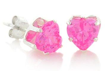 DarcusTori Pink Heart Diamond Stud Earrings Review