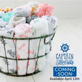 Captain SillyPants Swaddle