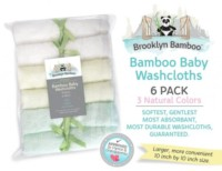 Brooklyn Bamboo Baby Washcloths Review
