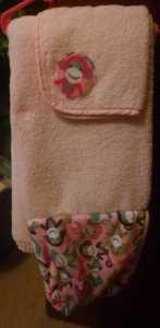 Tickle Toes Hooded Towel