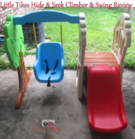 Little Tikes Hide and Seek Climber and Swing Review