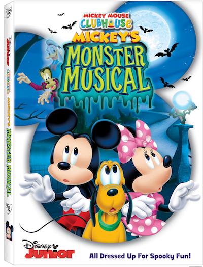 Mickey's Monster Musical DVD