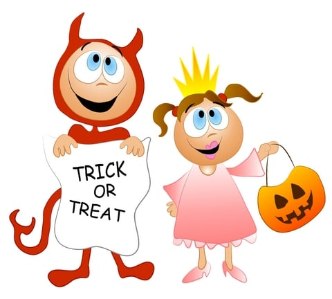 Toddlers Halloween Alternative Treats