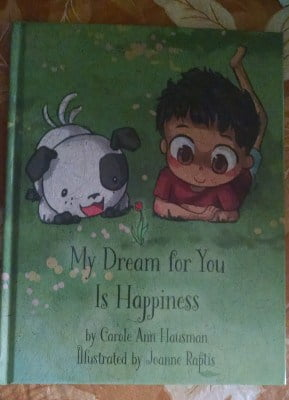 My Dream for You Is Happiness Book Review #holidaygiftguide2015