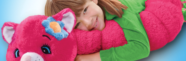 Pillow Pets Body Pillars are Fun and Huggable! #HolidayGiftGuide2015