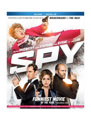 spy blu ray movie