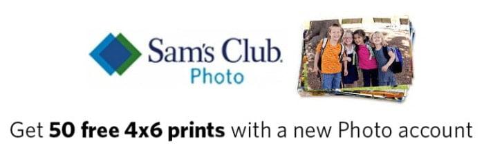 Sam's Club FREE Prints