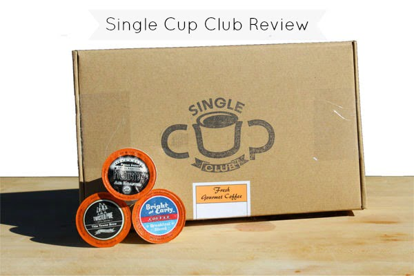 Coffee Single Cup Club Monthly Subscription Box