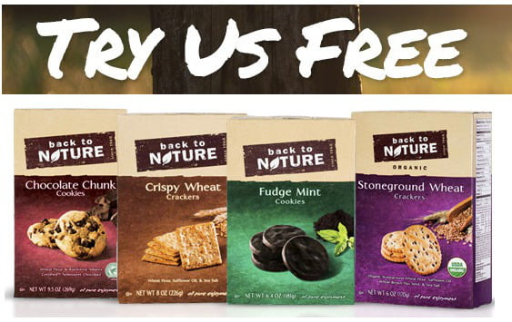 Possible FREE Full-Size Back To Nature Sample of Crackers or Cookies (Select Consumers)