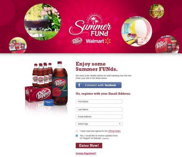 Dr Pepper Summer Fund