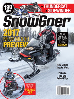 FREE Snow Goer Magazine Subscription {7 issues)