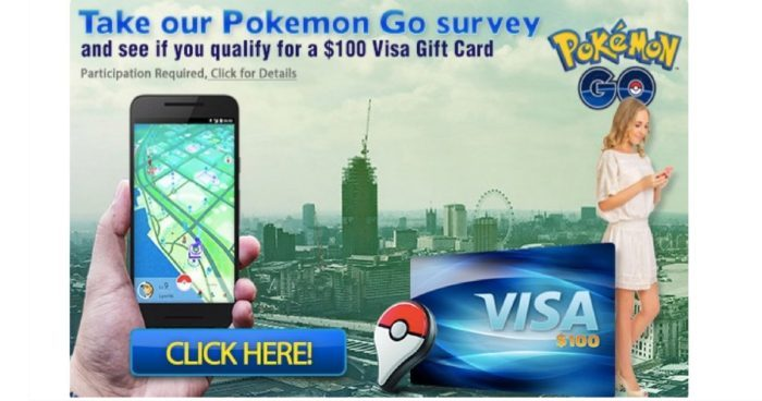 Pokemon Go Fans! Win 14,500 FREE PokeCoins or a $100 Gift Card !