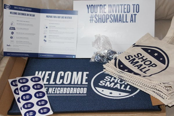 FREE American Express Small Business Saturday Event Kit