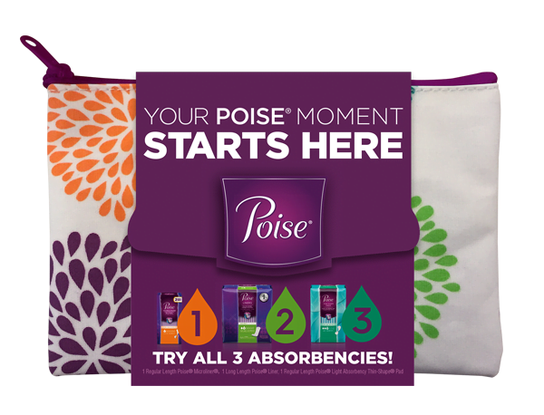 Poise Starter Sample Pack