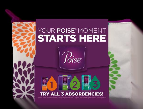 Poise Starter Sample Pack
