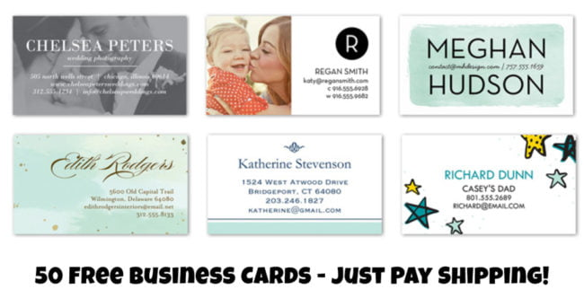 Shutterfly Business Cards