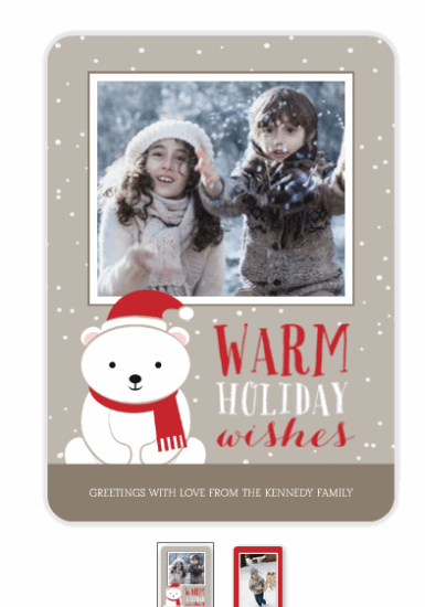 Custom Photo Holiday Cards
