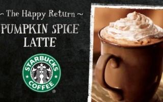 When is Starbucks Pumpkin Spice Latte Available?