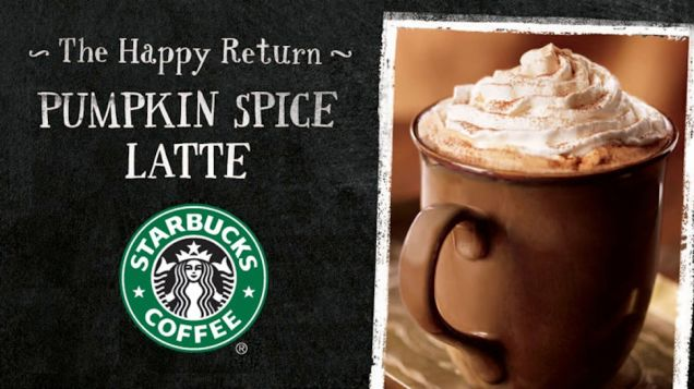 When is Starbucks Pumpkin Spice Latte Available?
