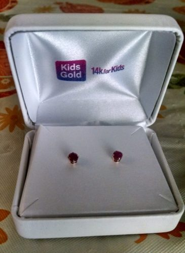 Genuine Birthstone Earrings