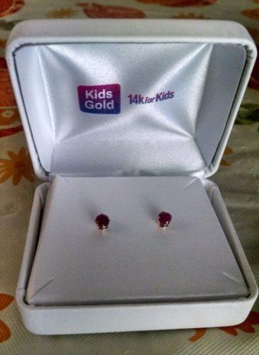 Genuine Birthstone Earrings