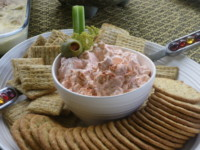 Bloody Mary Cream Cheese Dip