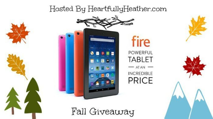 Kindle Fire Giveaway Blogger Sign Up Ends 10-18