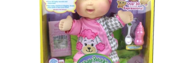 Interact with the NEW Cabbage Patch Baby So Real Dolls