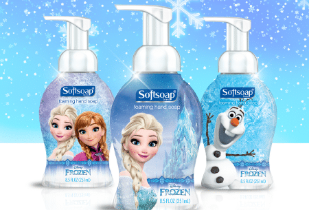 SoftSoap Practical Gift Ideas! #Frozen #StarWars #SoftSoap #KidsCollection