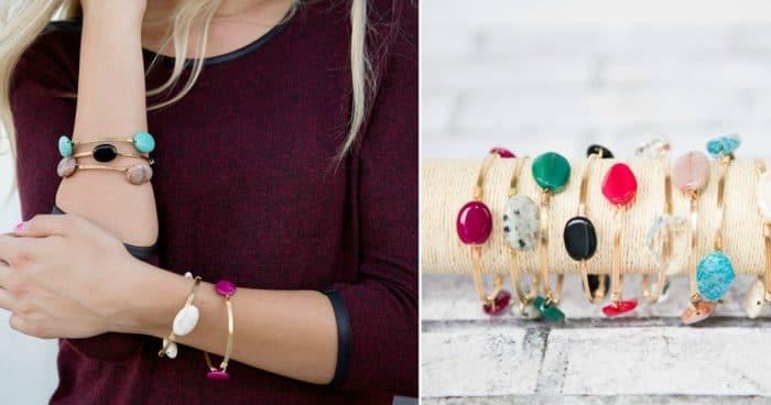 Cents of Style Stacking Bracelets