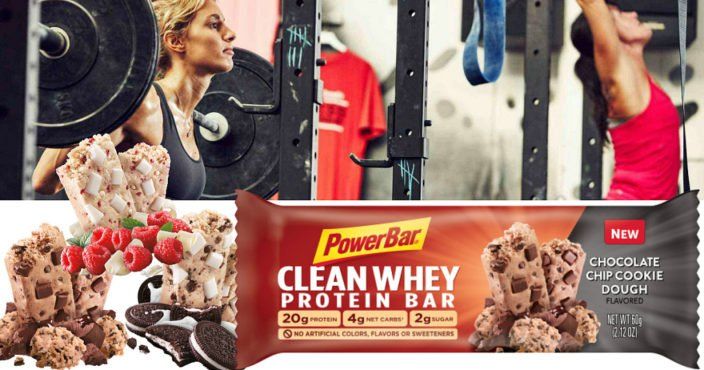 FREE PowerBar Clean Whey Protein Bar