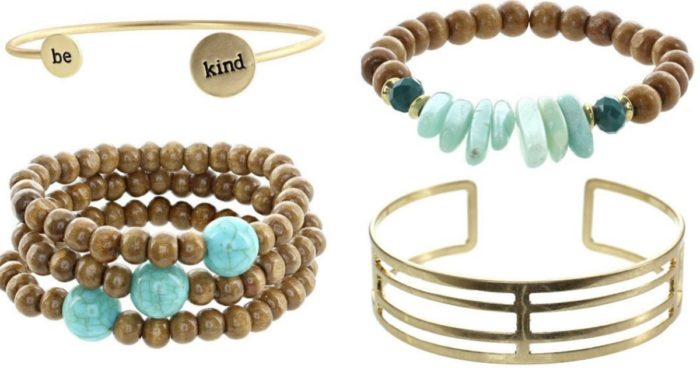 Cents of Style Stacking Bracelets