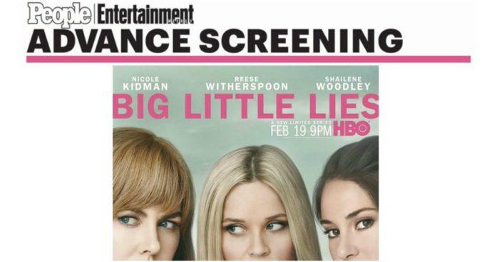 Big Little Lies FREE Screening
