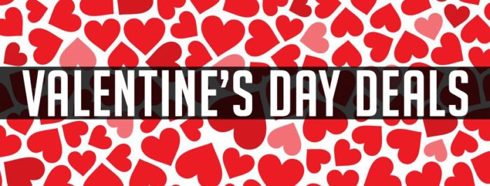Enjoy these Valentine's Day Deals for 2017