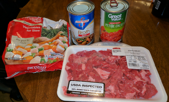 Wonder Pot Beef Stew Serves 6 To 8 Ingredients 1 Tablespoon Extra Virgin Olive Oil 2 Pounds Stew Meat Cut Into 1 Inch Cubes 1 Medium Onion Diced