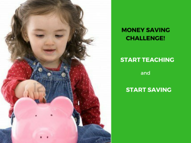 Money Saving Challenge – Teach Children to Save Money in 365 Days or 52 Weeks