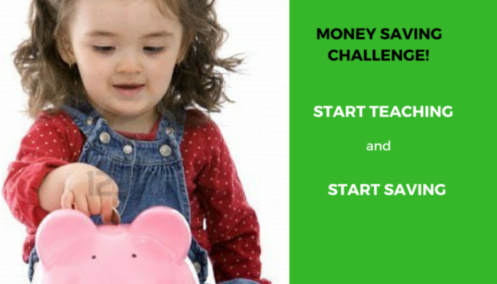 Money Saving Challenge – Teach Children to Save Money 365 Days or 52 Weeks