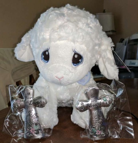 Make this Easter a Precious Moments Easter with Luffie Lamb!